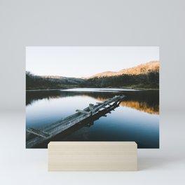 Rainbow Lake Sunrise II Mini Art Print