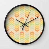 infinity Wall Clocks featuring Infinity by Skye Zambrana