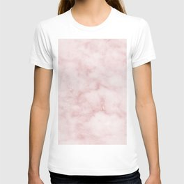 Sivec Rosa - cloudy pastel marble T-shirt