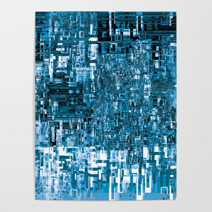 Circuitry Abstract Poster