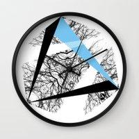 hexagon Wall Clocks featuring Hexagon by ADGPC