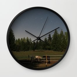night mares Wall Clock