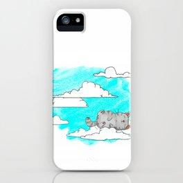 Sky Cat iPhone Case