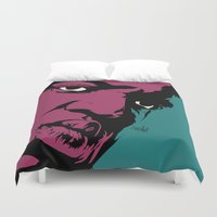 notorious big Duvet Covers featuring Notorious by Vee Ladwa