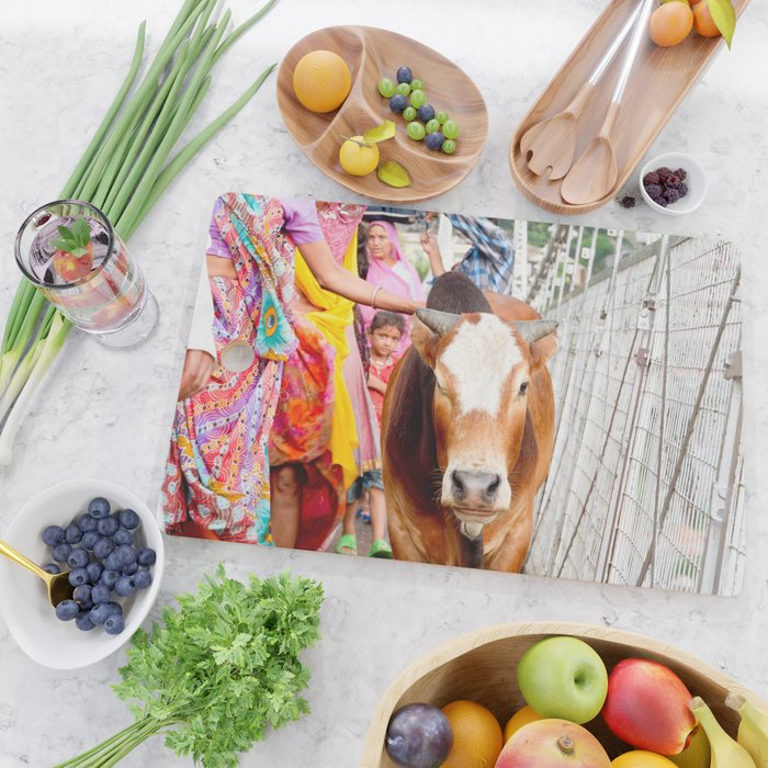 Holy cow, India Cutting Board