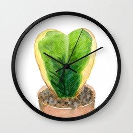 Sweetheart Hoya Wall Clock