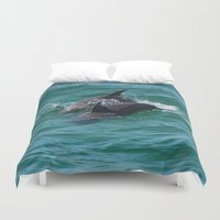 dolphin Duvet Covers featuring Dolphin by Jodisgoing180