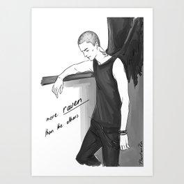 more raven Art Print