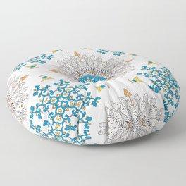 Sunny day Mandala Floor Pillow