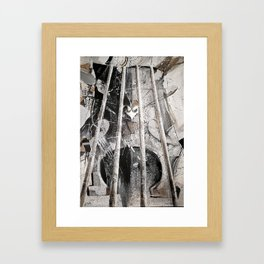 Double Bass Framed Art Print