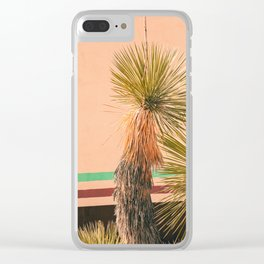 Desert Vintage Clear iPhone Case