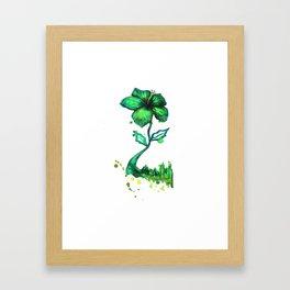 Flower City Framed Art Print