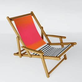 Sunset Ripples Sling Chair