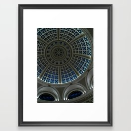 oculus to the night Framed Art Print