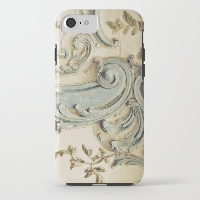 Blue Lace of Versailles iPhone Case