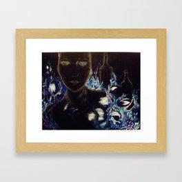 Chamelaucium Ciliatum Framed Art Print
