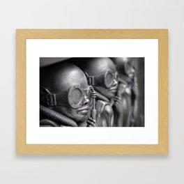 Giger Scultpure Framed Art Print