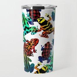 TOXIC FROGS PATTERN Travel Mug