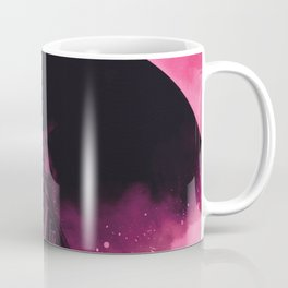 No Stars Pink Sky Coffee Mug