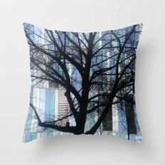 tree (Munich) Throw Pillow