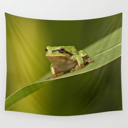 Frog's life Wall Tapestry