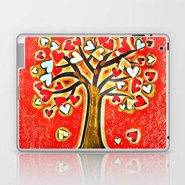 Watercolor Love Tree Laptop & iPad Skin