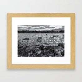 CALOOSAHATCHEE BASKETS Framed Art Print