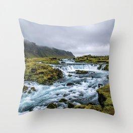 Roadside Retreat Throw Pillow