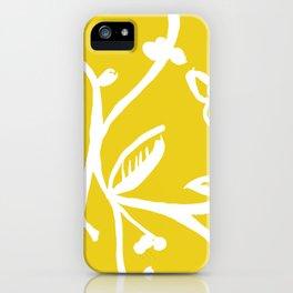 Inky Vines iPhone Case