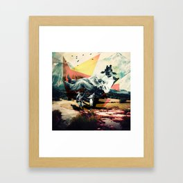 the progressive farmer Framed Art Print