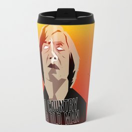 No Country For Old Man Poster Travel Mug