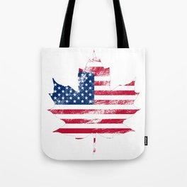 USA/Canada Tote Bag