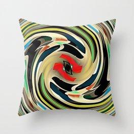The Circle of Life Throw Pillow