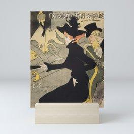 Divan Japonais - Henri de Toulouse Lautrec Mini Art Print