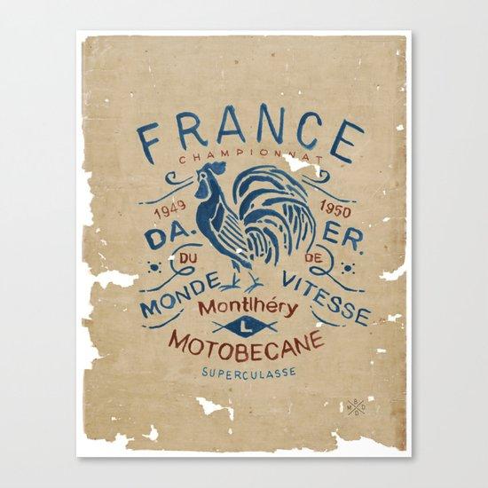 Motobecane Superculasse Canvas Print