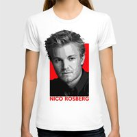 formula 1 T-shirts featuring Formula One - Nico Rosberg by Vehicle