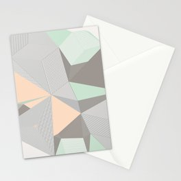 Origami II Stationery Cards