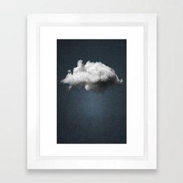 WAITING MAGRITTE Framed Art Print