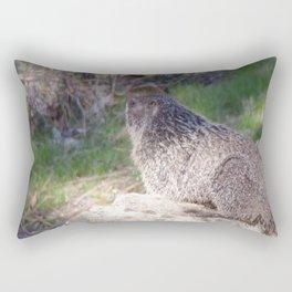 North American Beaver in the Wild, Nature, Animal, Beaver Rectangular Pillow