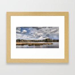 Stormy Skies Framed Art Print