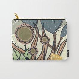 Vintage Retro Garden Carry-All Pouch