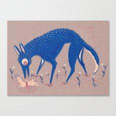 Terra Pericolosa Canvas Print