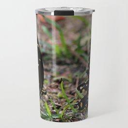Black Swallowtail Twins Travel Mug