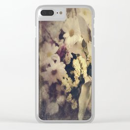 Flowers of Nostalgia Clear iPhone Case