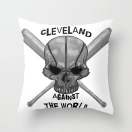 Cleveland Against the World Throw Pillow