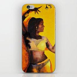 Belly Dance iPhone Skin