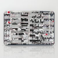 u2 iPad Cases featuring Opportunistic Species (P/D3 Glitch Collage Studies) by Wayne Edson Bryan