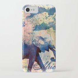 Elephants Journey iPhone Case