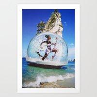 bubble Art Prints featuring Bubble by John Turck