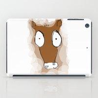 donkey iPad Cases featuring Donkey by Frances Roughton